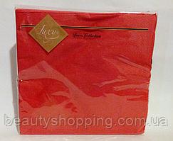 Салфетки бумажные Luxy Decor Red Collection 20 штук