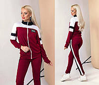Женский стильный спортивный костюм двухнить, фото 1
