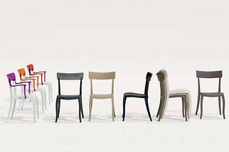 Кресло Papatya Hera-K песочно-бежевое сиденье, верх прозрачно-дымчатый, фото 3