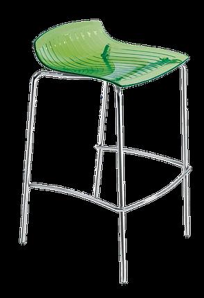 Барный стул Papatya X-Treme BSS прозрачно-зеленый, фото 2