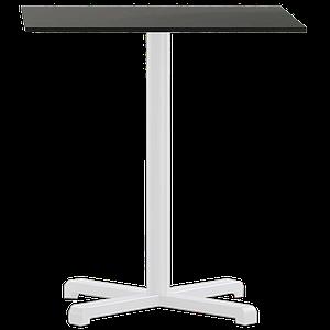 База стола Plus 63x63x73 см матовая белая Papatya