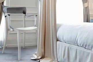 Кресло Papatya Hera-K песочно-бежевое сиденье, верх прозрачно-оранжевый, фото 3