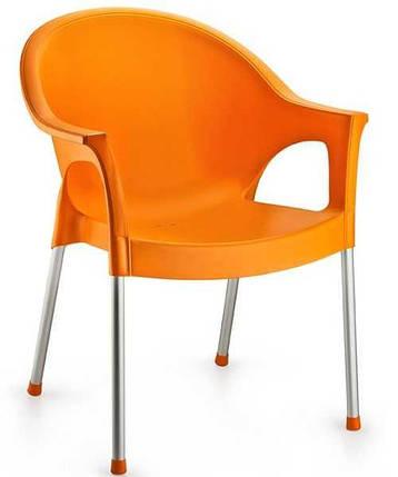 Кресло Irak Plastik Bergama оранжевый, фото 2