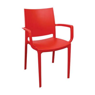 Крісло Irak Plastik Lara темно-червоний, фото 2
