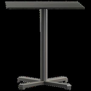 База стола Plus 48x48x73 см матовая антрацитовая Papatya