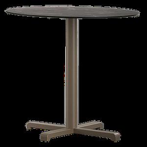 База стола Plus 63x63x73 см матовая серо-коричневая Papatya
