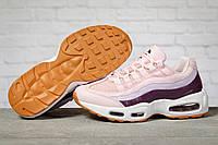 Кроссовки женские Air, Найк Аир розовые, жіночі кросівки.