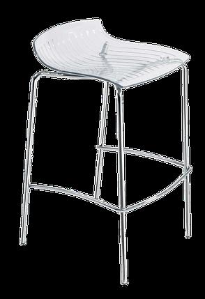 Барный стул Papatya X-Treme BSS прозрачно-чистый, фото 2