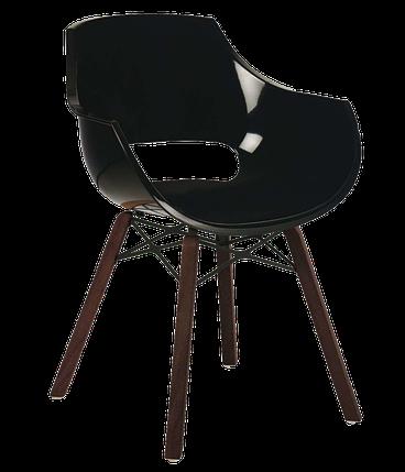 Кресло Papatya Opal Wox Iroko черное, фото 2