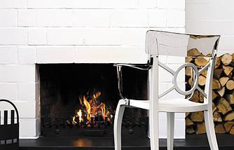 Кресло Papatya Opera-K сиденье черное, верх белый, фото 2