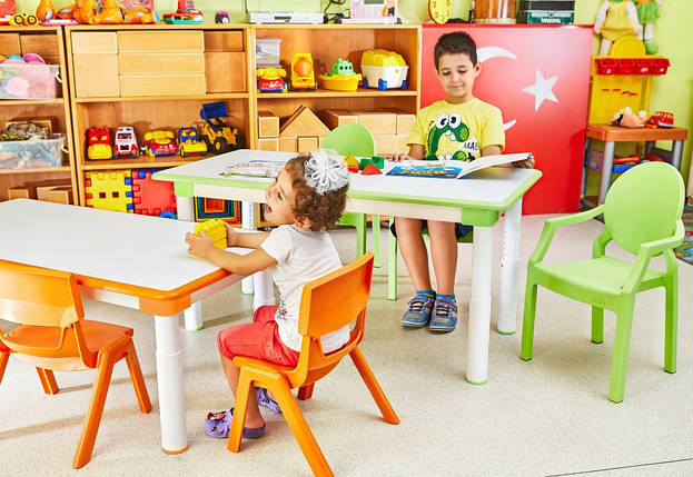 Стол детский Irak Plastik Dodo зеленый, фото 2