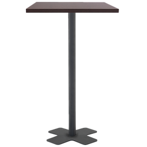 База стола Oxo bar base 45x45x110 см катафорез матовая черная Papatya