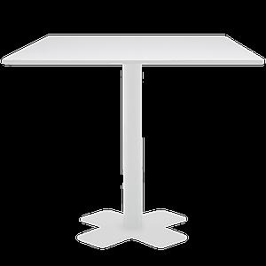 База стола Oxo II 60x60x73 см катафорез матовый белый Papatya