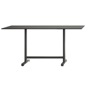 База стола Plus II 80x60x73 см серо-коричневая Papatya