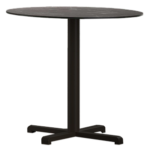 База стола Plus 48x48x73 см матовая черная Papatya