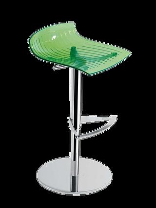 Барное кресло Papatya X-Treme B прозрачно-зеленый, фото 2