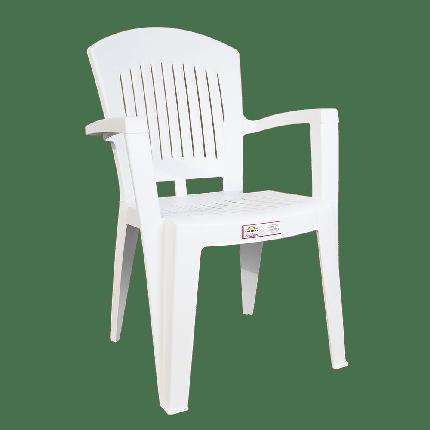 Кресло Irak Plastik Aspendos белое, фото 2