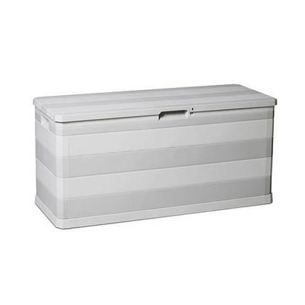 Сундук пластиковый Multibox Elegance Line 280 л теплый серый Toomax, фото 2