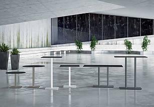 База столу Lotus Square 40x40x73 см антрацит Papatya, фото 3
