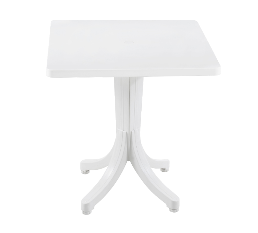 Стіл квадратний Papatya Фавори 70x70 білий
