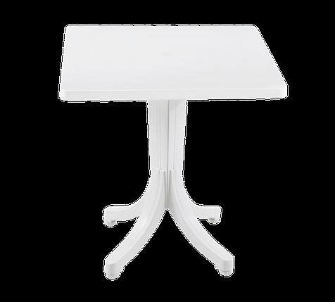 Стіл квадратний Papatya Фавори 70x70 білий, фото 2