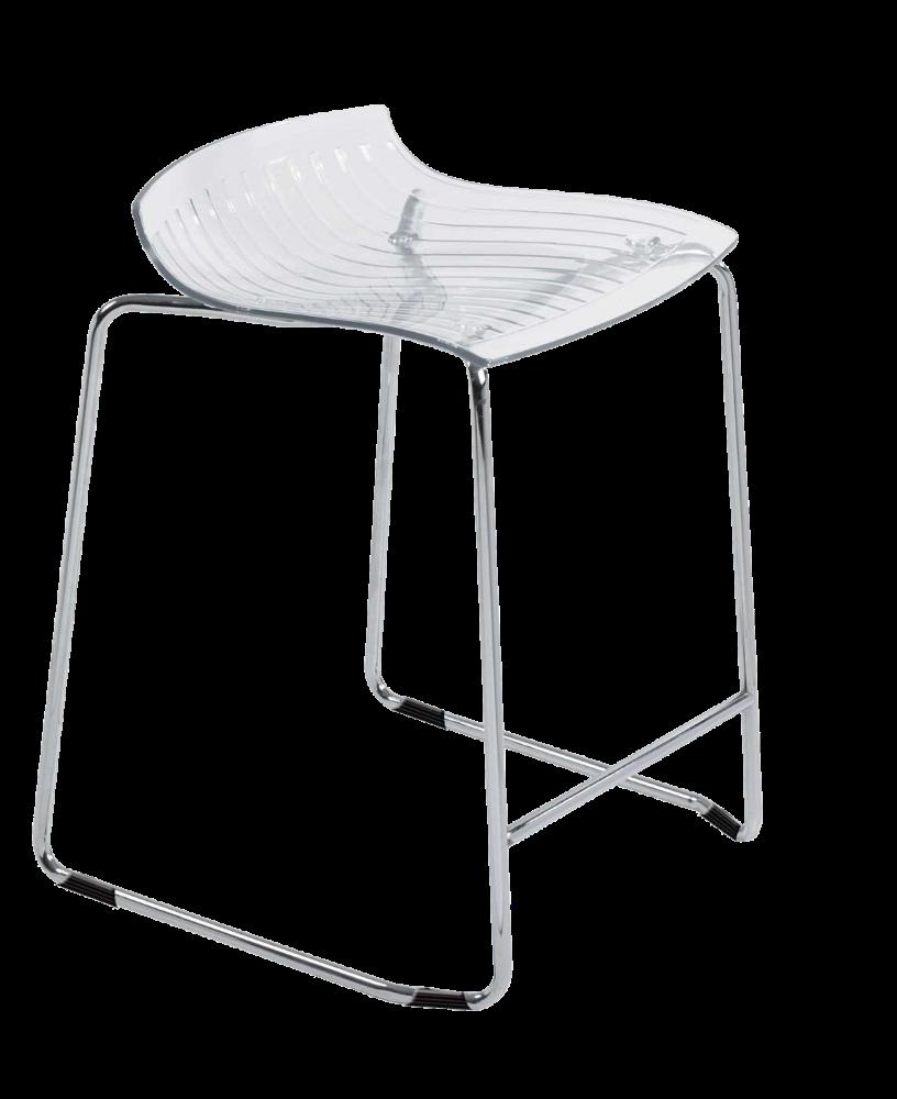 Барне крісло Papatya X-Treme Sled прозоро-чистий