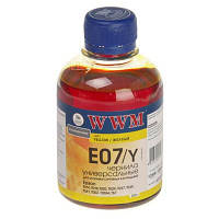 Чернила WWM EPSON Stylus Universal Yellow (E07/Y)