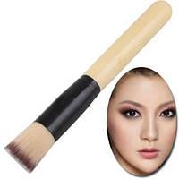 Большая бамбуковая кисть для жидких основ