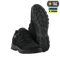 Кроссовки мужские тактические M-TAC, обувь тактическая, кроссовки M-TAC Leopard II BLACK, обувь мужская