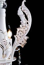 Люстра свічка L77567HQ/6 (FGD+LGWT), фото 3