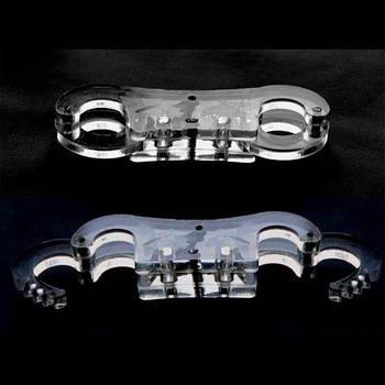 Полиметилметакрилат наручники / регулируемые манжеты с пальцем