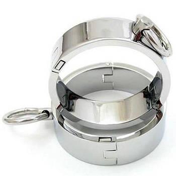 Unisex сталеві кайдани для рук - L
