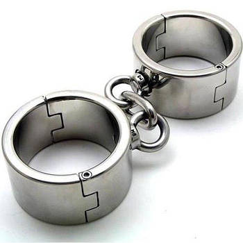 Сталеві наручники для чоловіків і жінок