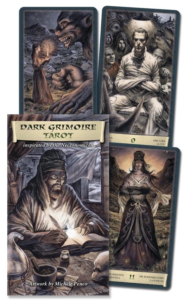 Dark Grimoire Tarot/ Таро Чорний Гримуар