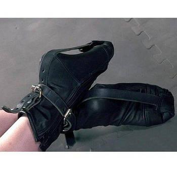 Шкіряні наножники-шкарпетки