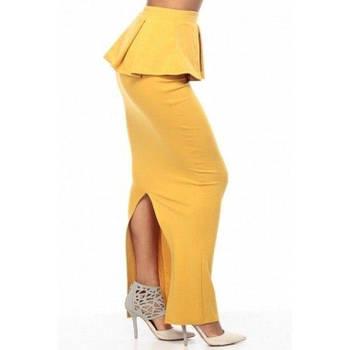 РАСПРОДАЖА! Длинная желтая юбка
