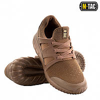 Кроссовки мужские тактические M-TAC, обувь тактическая, кроссовки М-ТАС TRAINER PRO COYOTE, обувь М-ТАС