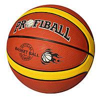 Мяч баскетбольный MS 2770  размер7, резина, 600-620г, в кульке