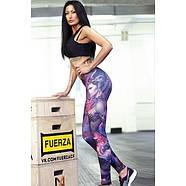 Леггинсы с принтом женщины-воина для йоги, фото 2