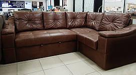 Угловой диван с нишами для белья
