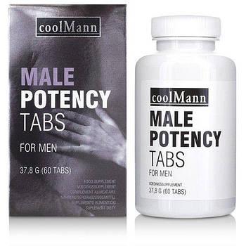 Таблетки для потенции COOLMANN MALE POTENCY TABS 60 TABS