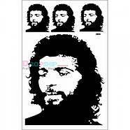 РАСПРОДАЖА! Виниловая наклейка - Портрет Че Гевара, фото 2