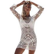 Вязаное платье с открытой спиной, фото 3