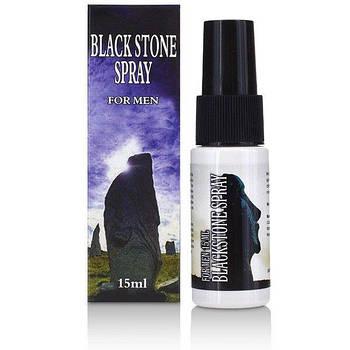 Спрей продлевающий оргазм Black Stone Spray (15ml)