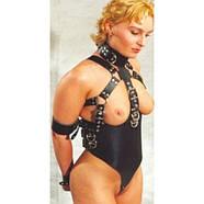 Черный женский бондаж, фото 2