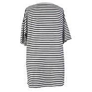 Черно белая пляжная футболка, фото 3
