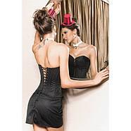 Корсет с юбочкой черный, фото 2