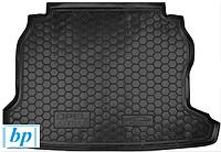 Коврик багажника (корыто)-резиновый, черный Opel Astra G (Classic) (опель астра джи классик 1998-2005)
