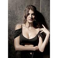 Сексуальное черное мини-платье, фото 2