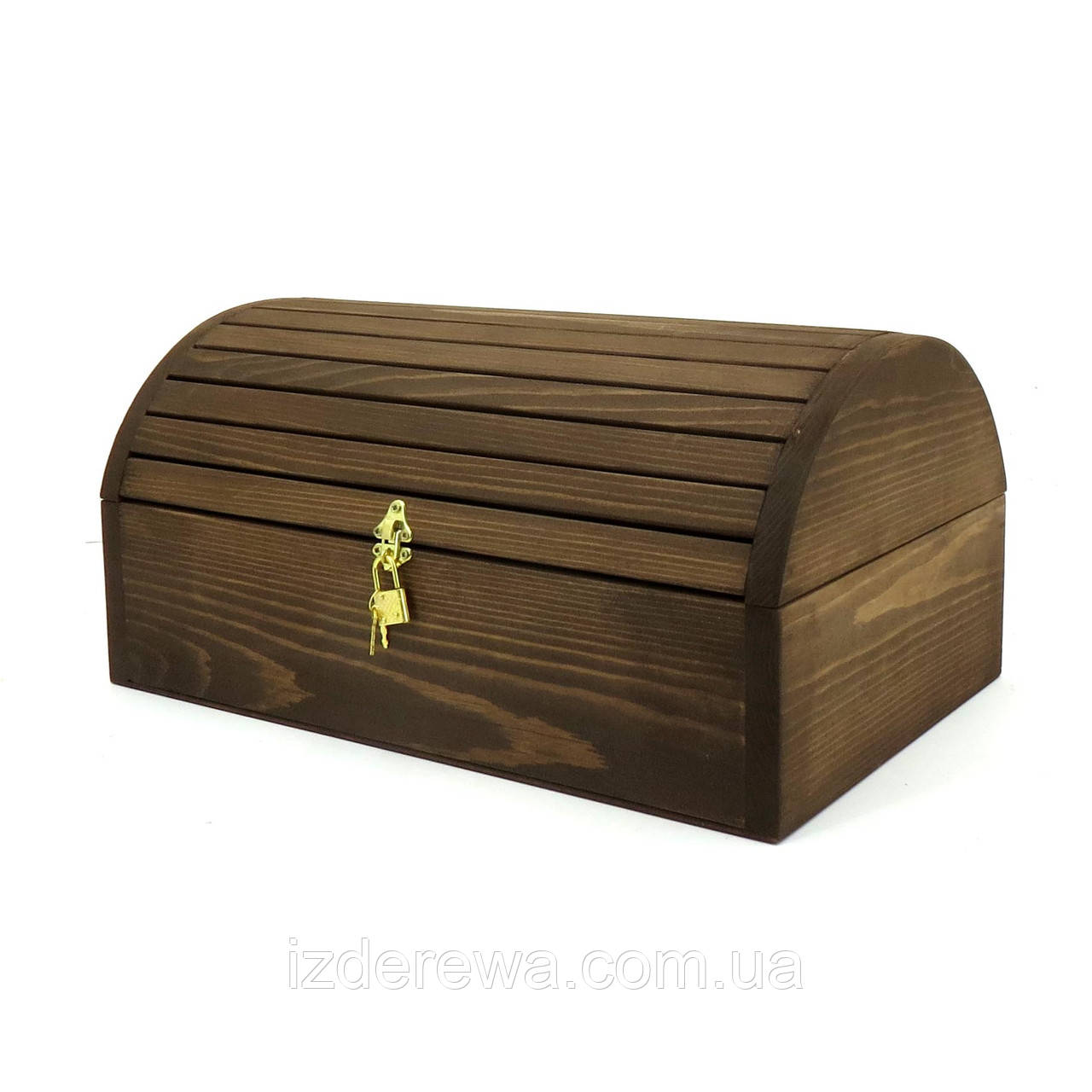 "Сундук деревянный ""Марико 40х22х20"" капучино"